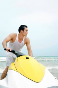 check out your jet ski before putting it on the water