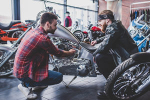Be sure you get adequate motorcycle insurance for your ride