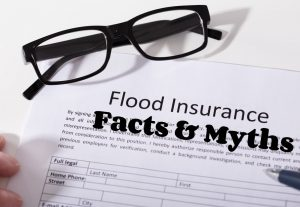 Learn the facts behind the myths of flood insurance