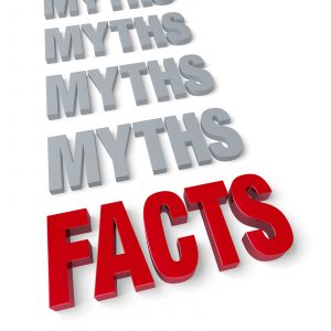With insurance, it's important to learn the facts AND the myths